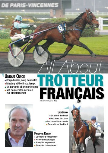 UNIQUE QUICK - Le cheval Français
