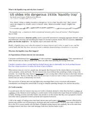 """What is the liquidity trap and why does it matter? """"The ... - Tutor2u"""