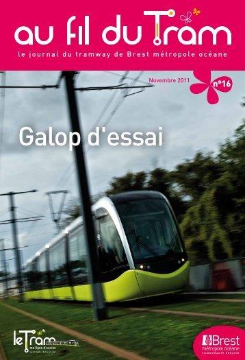 Au fil du Tram n°16 - Novembre 2011 - Tramway de Brest métropole ...