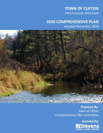 town of clifton 2030 comprehensive plan - Pierce County Home Page