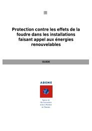 Protection contre les effets de la foudre dans les ... - Solaire- Drome