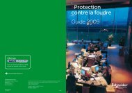 Protection contre la foudre - Schneider Electric