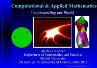 Computational & Applied Mathematics