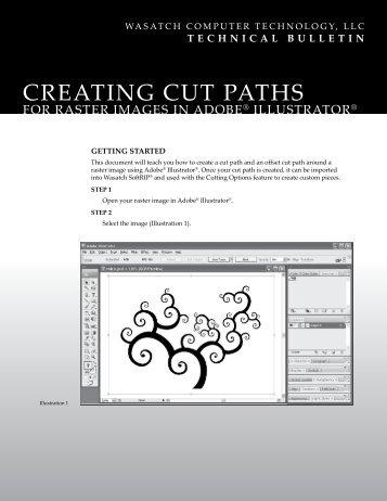 creating cut paths - Wasatch Computer Technology, LLC