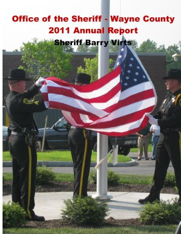 2011 Annual Report - Wayne County Sheriff's Office