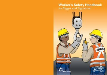 Worker's Safety Handbook for Rigger and Signalman - Workplace ...