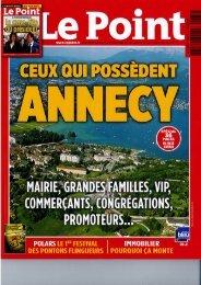 Le Point - 15 juin 2012 (format pdf - 4Mo - Pontons Flingueurs