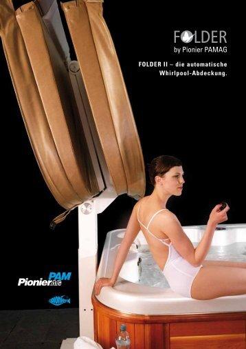 FOLDER II – die automatische Whirlpool-Abdeckung.