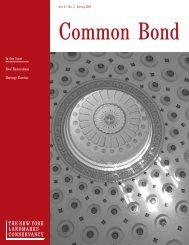 Download Common Bond - The New York Landmarks Conservancy