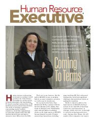 Coming to Terms, Human Resource Executive, September 2005