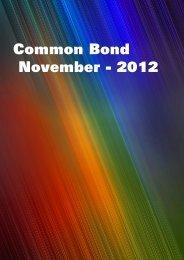 Common Bond November - 2012 - aiboc