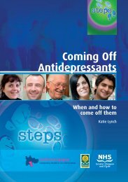 Coming Off Antidepressants - Antidepressant STEPS