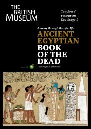 ANCIENT EGYPTIAN BOOK OF THE DEAD - British Museum