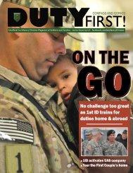 Duty First - Fort Riley - U.S. Army