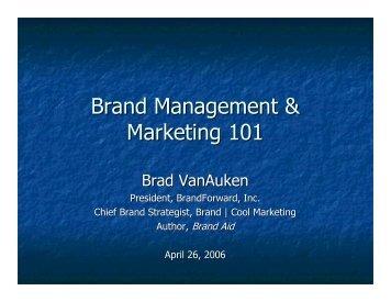 management marketing