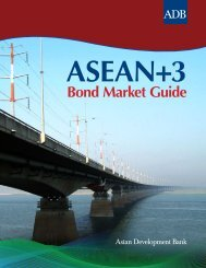 Asean+3 Bond Market Guide - AsianBondsOnline - Asian ...