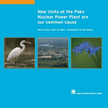 New Units at the Paks Nuclear Power Plant are our common cause