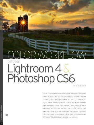 Lightroom 4 & Photoshop CS6