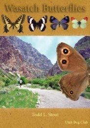 Wasatch Butterflies pamphlet - Utah Bug Club