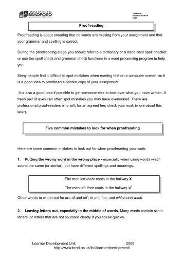 Learner Development Unit 2009 http://www.brad.ac.uk/lss ...