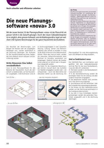 Nova basis cad plancal for Raum planungs software
