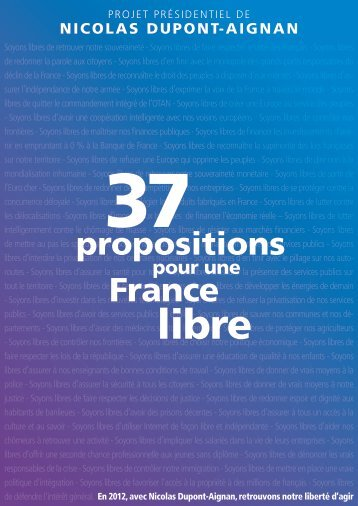 37 propositions