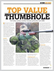 Airgun World Magazine Article - Sportsmarketing