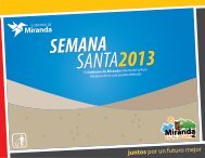 El Gobierno de Miranda informa de la Ruta Religiosa de la cual puedes disfrutar