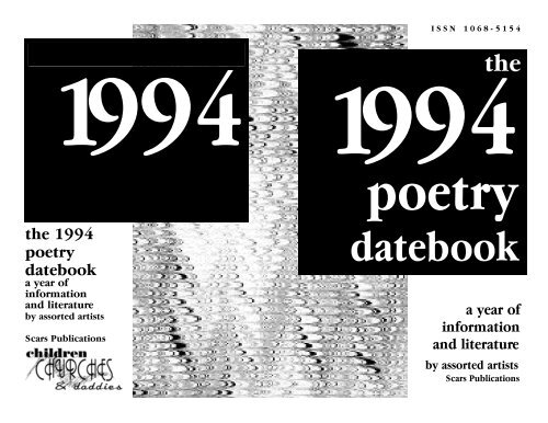1994 calendar e-book pdf file - Scars Publications