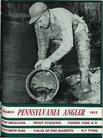 pennsylvania angier 1953 - Pennsylvania Fish and Boat Commission