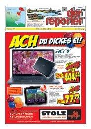 der reporter - Das Familienwochenblatt für Fehmarn 2013 KW 13