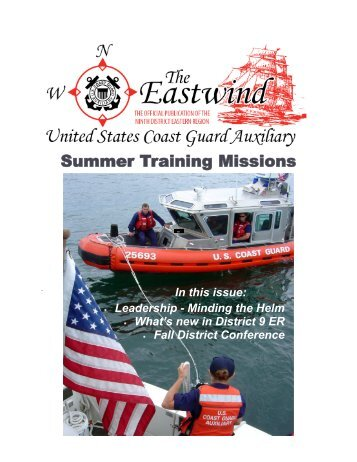 Summer Training Missions - the District 9ER Web Site