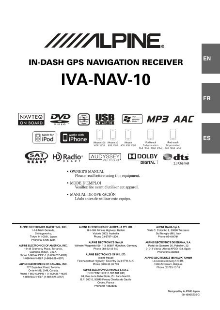 IVA-NAV-10 - CODA Automotive