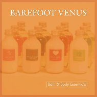 Barefoot Venus Product Catalogue (3.44MB) - Aartvark.net
