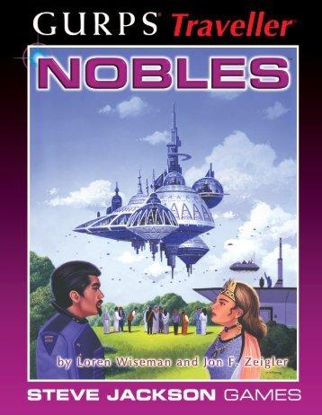GURPS Traveller: Nobles - e23 - Steve Jackson Games