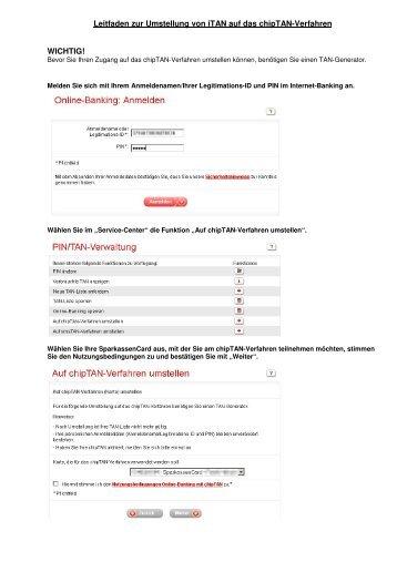 Leitfaden Erste Anmeldung Und Synchronisation Sparkasse