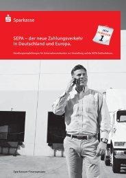 SEPA-Broschüre für Firmenkunden - Sparkasse Neumarkt i d OPf ...