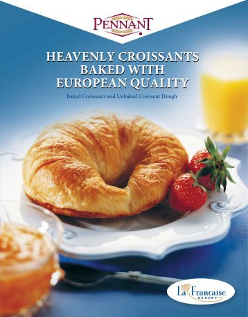Croissant Brochure - Pennant Foods