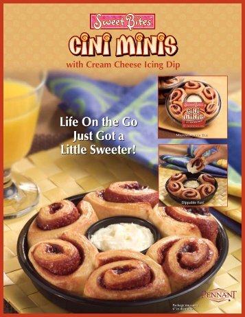 Cini Mini Sell Sheet Brochure - Pennant Foods