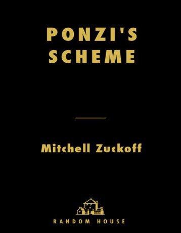 Ponzi's Scheme