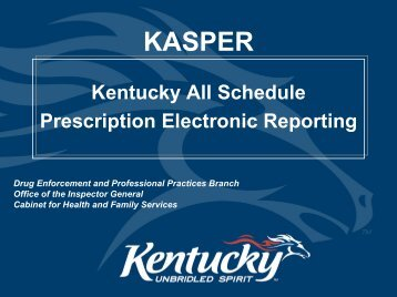 Kasper   Kentucky: Cabinet For Health And Family Services