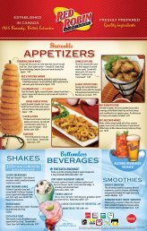 appeTIzers - Red Robin