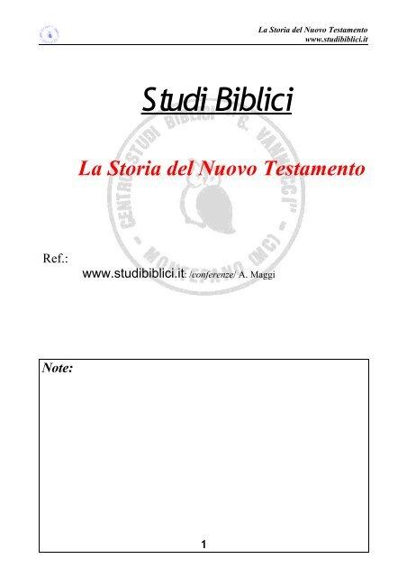 studi biblici sulla datazione