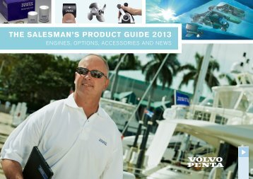 THE SALESMAN'S PRODUCT GUIDE 2013 - Volvo Penta COM-Portal