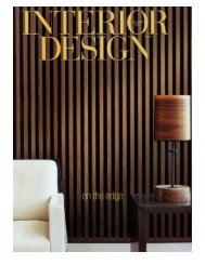 Interior Design Magazine - Dufner Heighes