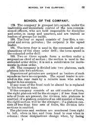 U.S. War Department, Infantry Drill Regulations - Regimental Drum ...