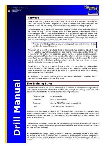 Cadet Drill Test