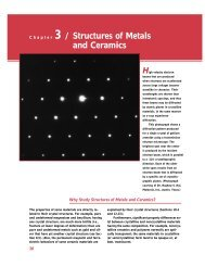 Chapter 3 / Structures of Metals and Ceramics