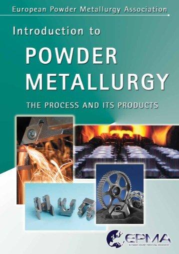 The European Powder Metallurgy Association (EPMA)