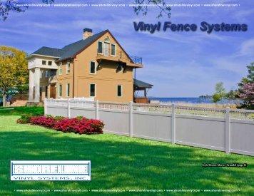 Vinyl Fence Systems - Shoreline Vinyl Systems